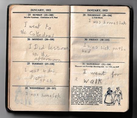 Andrew Norman prep diary