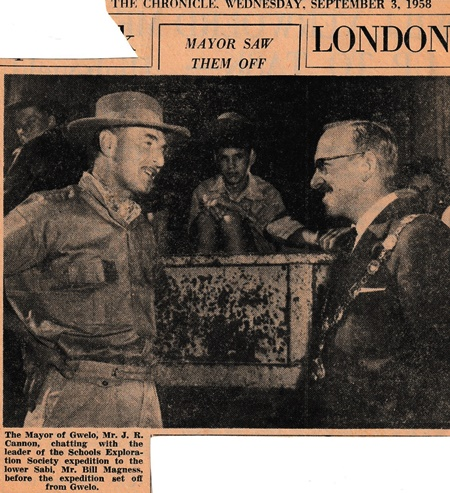 Andrew Norman in Rhodesia