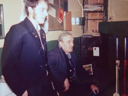 Bob Richards and Arthur Galton